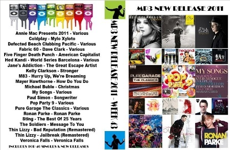 VA - MP3 New Releases Week 43 (2011)