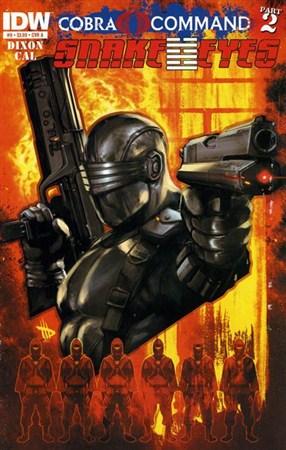 G.I.Joe – Snake Eyes #9 (2012)