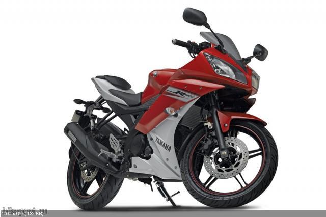Новый мотоцикл Yamaha R15 2012