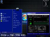 Windows 7 Electric Blue Ultimate (х86 x64) by AMJ [2010.ENG/RUS.LP] 7600