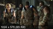 Gears Of War 3 (XBox360) [Region Free/Rus]