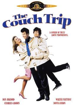 Проказник из психушки / Психодром / The Couch Trip (1988) HDTVRip 720p