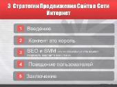 Видеокурс Три стратегии продвижения сайта в сети Интернет (2011)