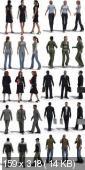 Male & Girls 3DMax Models format