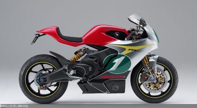 Концепт электроспортбайка Honda RC-E