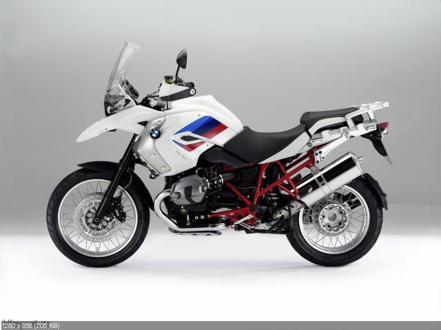 Новый мотоцикл BMW  R1200GS Rallye 2012