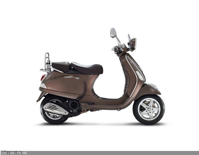 Скутеры Vespa Sport SE, Moda SE и Touring SE