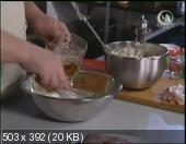 Мужская еда. Куриные грудки в пивном кляре с яичным салатом (2010) DVDRip