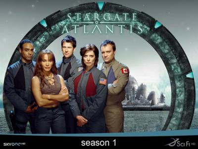 Звёздные Врата : Атлантида / Stargate: Atlantis (2004) [Cезон: 1] WEB-DL 720p