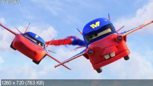 Тачки: Байки Мэтра - Аэро-Мэтр / Mater's tall tales: Air Mater (2011) BDRip 720p