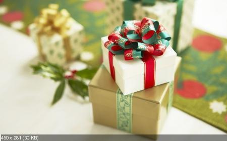 Обои к Рождеству и Новому году. Часть #4
