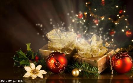 Обои к Рождеству и Новому году. Часть #6