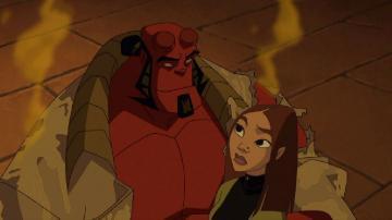 Хеллбой: Меч громов (Хеллбой: Меч штормов) / Hellboy Animated: Sword of Storms (2006) BDRip 720p