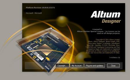 Altium Designer [ v.10.818.23272 (глубокий3 репозитарий) x86, 19.2011, ENG + RUS ]