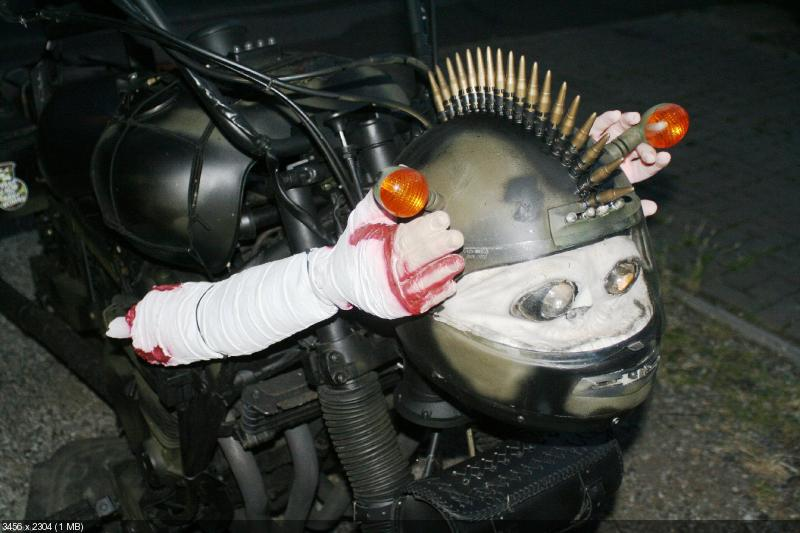 Военный рэт кастом Yamaha FJ1100 1985