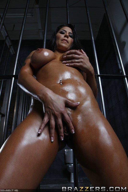 Outdoor female insertion torture