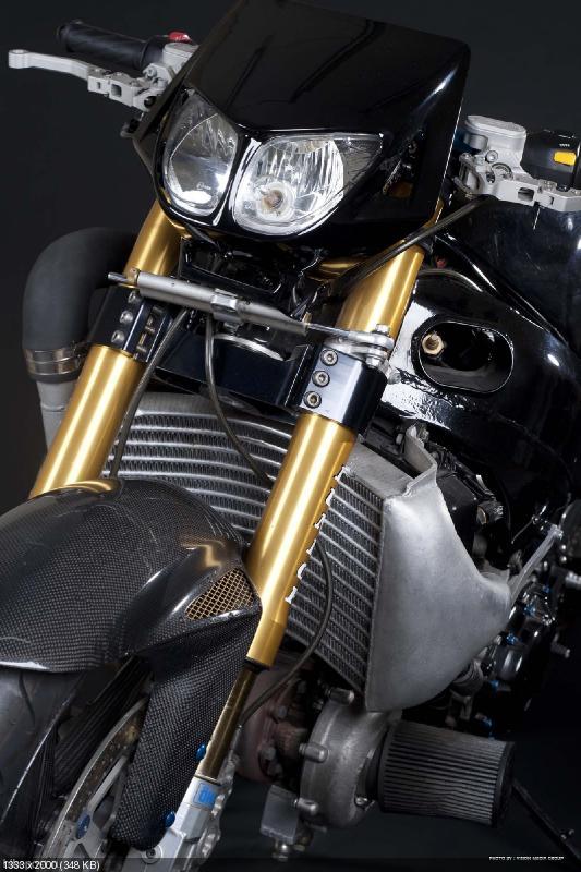 499-сильная турбо Hayabusa Ghost Rider'a