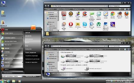 Windows 7 Ultimate SP1 By StartSoft [ 64bit, v.2.1.12, Rus ]