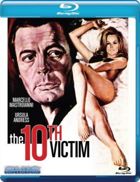 Десятая жертва / La Decima vittima / The Tenth Victim (1965) BDRip 1080p