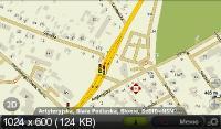 AutoMapa 1.2.1110 AndroidOS Polska (Beta) - навигационное приложение для платформы Android