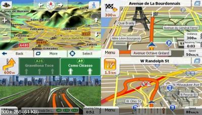 Сборка програмы iGO primo app 2.3 + карты Q3 и 3D модели