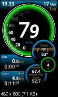 Ulysse Speedometer 1.5.4 Android (04.02.12) - GPS спидометр