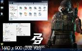 Windows 7 Ultimate SP1 x32 Point Blank By StartSoft v 12.2.12 (2012) Русский,Английский,Украинский