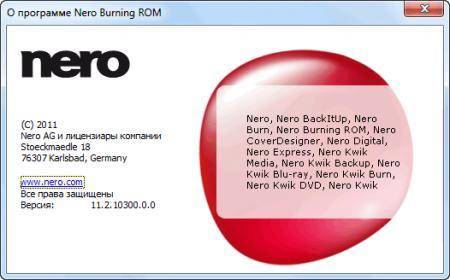 Nero Multimedia Suite [ v.11.2.00400, Final, 2012, x86/x64, ML/RUS ]