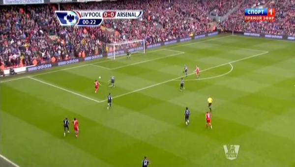 Чемпионат Англии 2011-2012 / 27-й тур / Ливерпуль - Арсенал