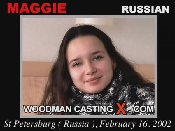 Maggie / 20-летняя ученица вечерней школы наконец нашла нормальную работу![WoodmanCastingX.com]