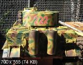 Соберите Танк Тигр - Покраска модели