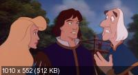 ���������-������ 3: ����� �������������� ��������� / The Swan princess and the Mystery of the Enchanted Treasure (1998) DVDRip (x264)